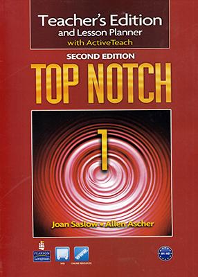Teacher's Edition & Lesson Planner With ActiveTeach TOP NOTCH 1