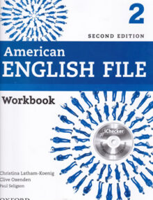 American english file2, second edition, WORKBOOK