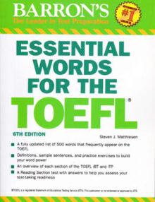 essential words for the toefl, BARRONS