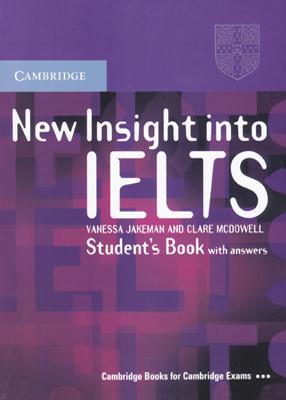 New Insight into IELTS Student Book + CD نیو اینساید اینتو آیلس استیودنت بوک